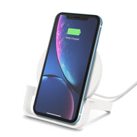 CHARGE WIRELESS CHARGING STAND 10W WHT