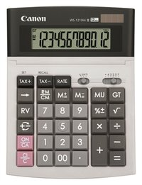 WS1210 Hi III 12 Digit Desktop Calculato