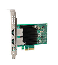 INTEL DUAL PORT 10GbE ETHERNET ADAPTER X550-T2, RJ45, LP/FULL BRACKET, BULK